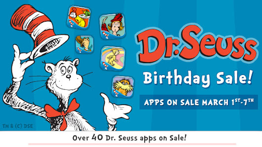 Seussational Dr. Seuss App Bundle Giveaway!