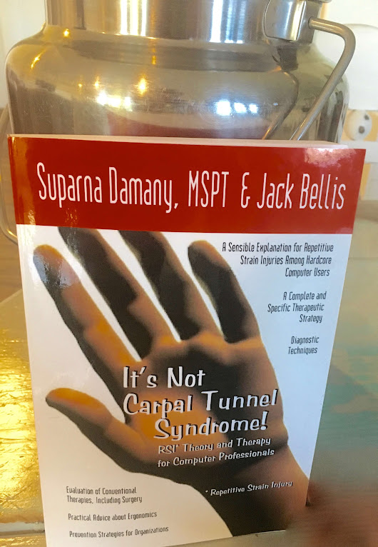 "Wrist Pain From Milking? Book Review: ""It's Not Carpal Tunnel Syndrome"""