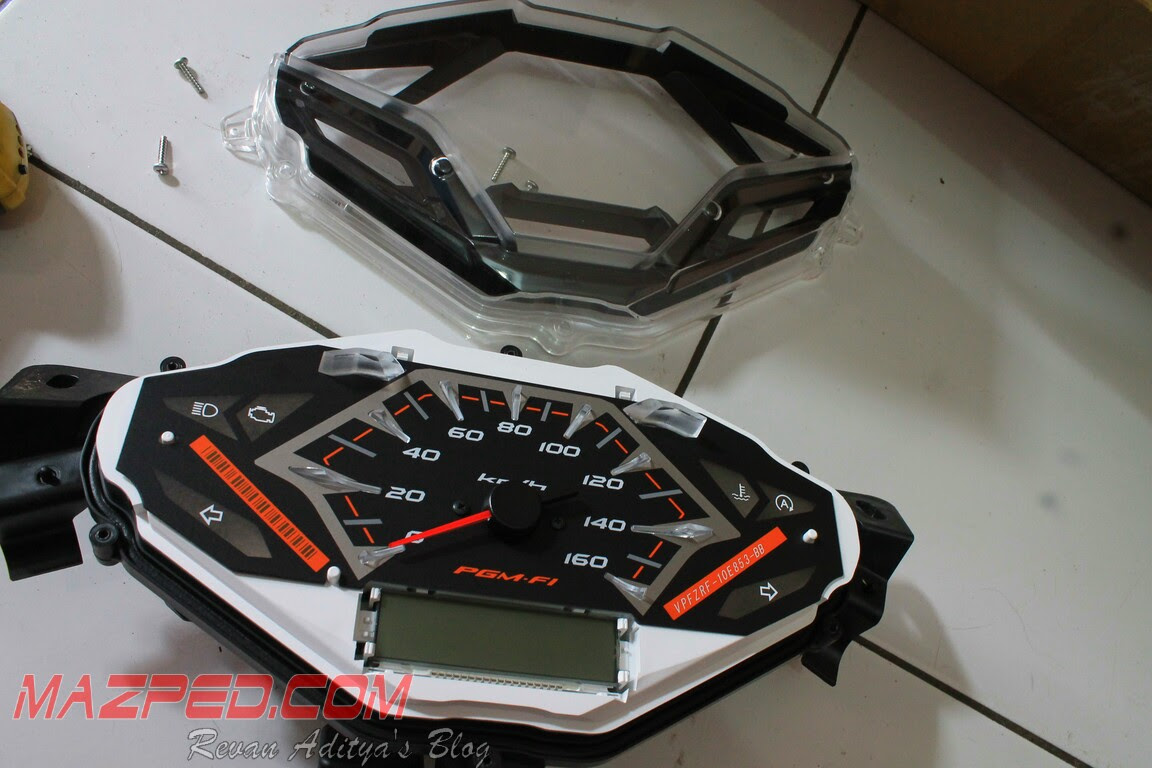 Modif Ganti Backlight Spido New Vario 125 MAZPEDiaCOM