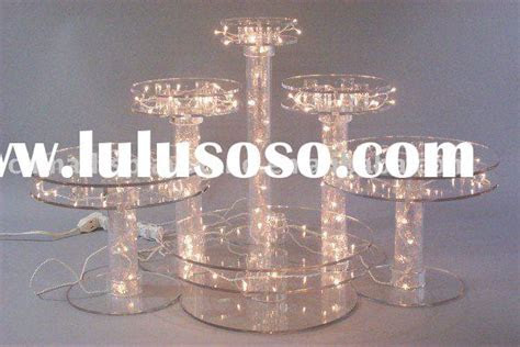 Acrylic Wedding Cake Fountain Stand for sale   Price,China