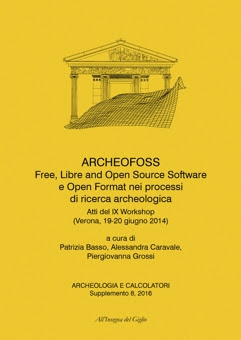 Archeologia e Calcolatori, supplemento 8, 2016