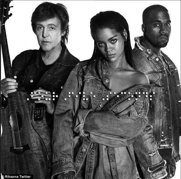 Paul McCartney se apresentará com Rihanna e Kanye West no Grammy