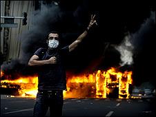 Protestas en Irán tras la elecciones en verano de 2009