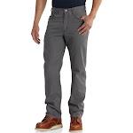 Carhartt Men's Rugged Flex Rigby 5-Pocket Work Pants - Gravel