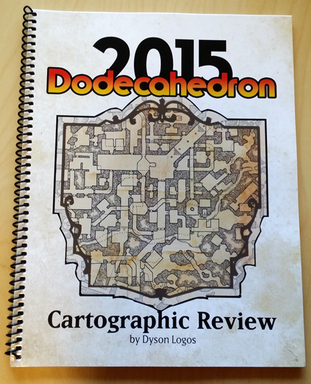 MartinRalya.com & Yore | Glorious old-school maps: the Dodecahedron 2015 Cartographic Review