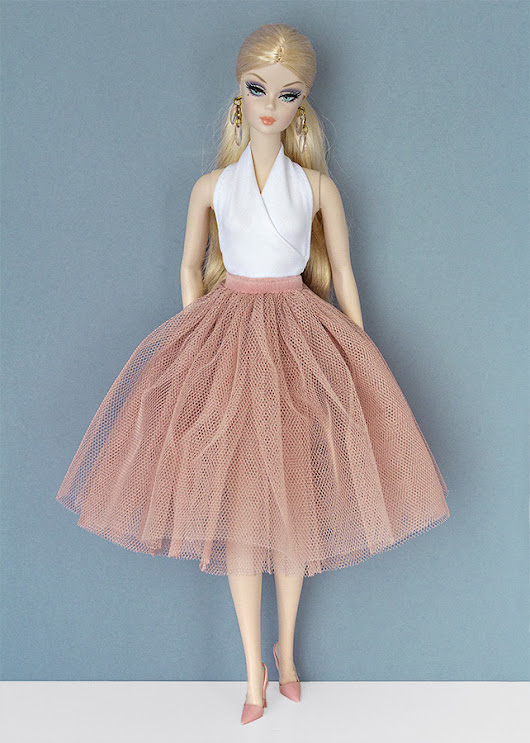 Tulle skirts for Barbie