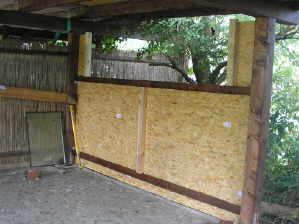 Carport bauen | Wände Fassade