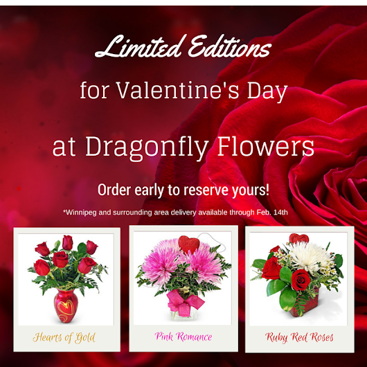 Limited Edition Valentine's Day Vased Flowers Contest is Now LIVE on Facebook