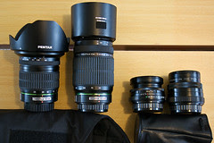 travel gear: lenses