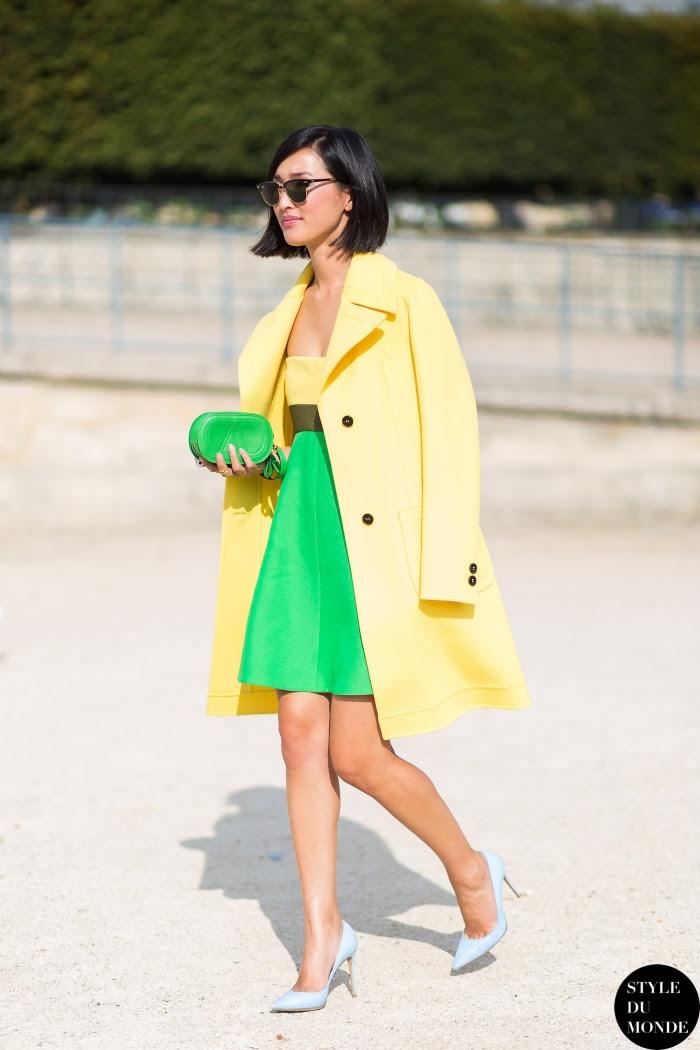 Nicole Warne Gary Pepper girl Street Style Street Fashion Streetsnaps by STYLEDUMONDE Street Style Fashion Blog