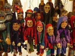 Harper's puppets