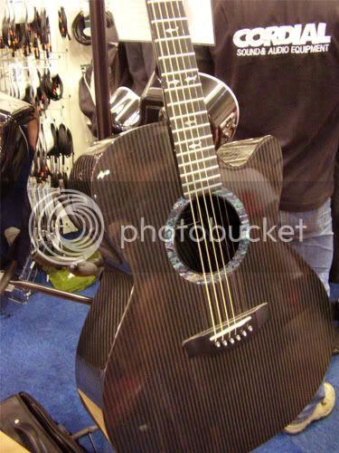 Rainsong graphite acoustic guitar
