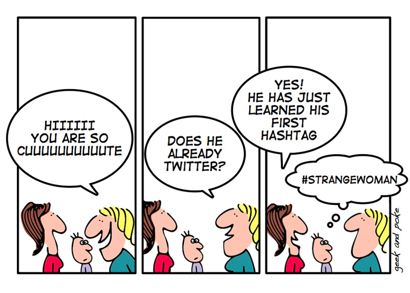 Twitter comic @ Geek and Poke [click to enlarge]