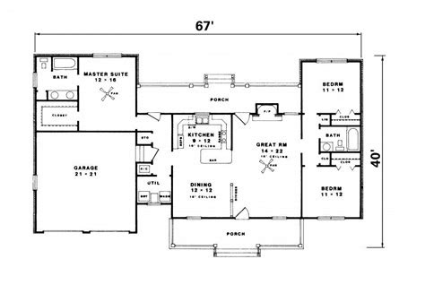 simple ranch house floor plans luxury simple ranch house