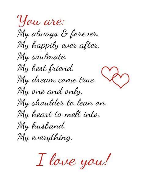 husband love   texte/ typo   Gedichte liebe, Danke zitate