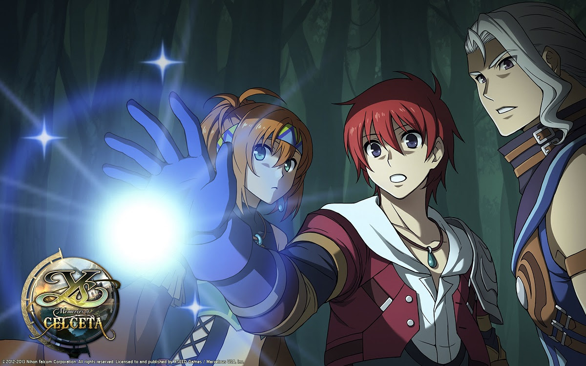 Ys: Memories of Celceta enters the PC forest this Summer screenshot