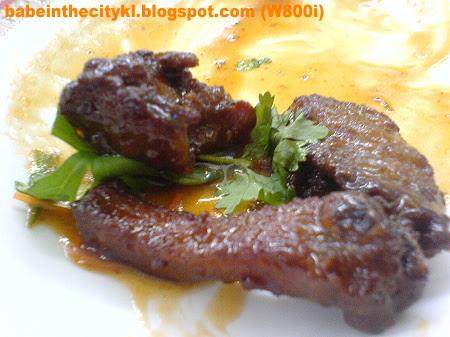 DF - honeyed pork ribs
