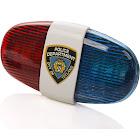 Kids Tech Bike LED Light - Police Sound Light Electronic Horn - Bicycle Siren, 5 LED Light 4 Sounds Trumpet, Warning Safety Light, Waterproof