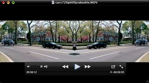 Side by Side Video Created with QuickTime Player 7