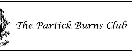 Partick Burns Club | Celebrating the Poet Robert Burns