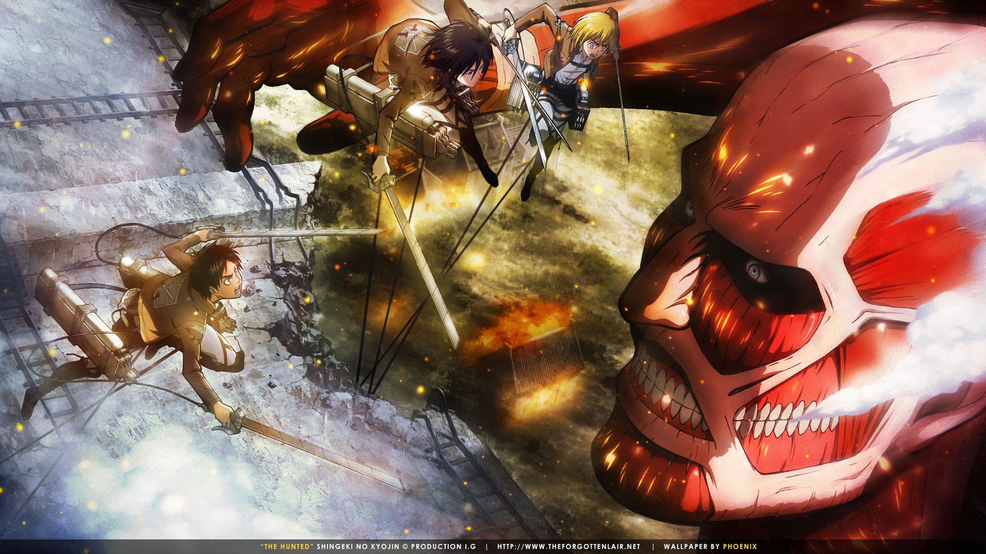 Shingeki No Kyojin Wallpaper And Scan Gallery Minitokyo