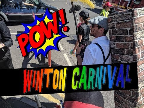Winton Carnival Bournemouth - Chimney Sweeps Entertain the Crowd
