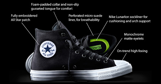 After a Billion Sore Feet, Converse Wants Chucks to Feel Like Nikes