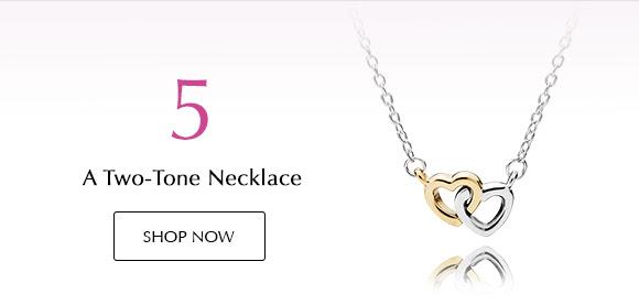 Shop Two-Tone Necklaces