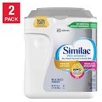 Similac Pro-Advance HMO Infant Formula 2-count / 34 oz