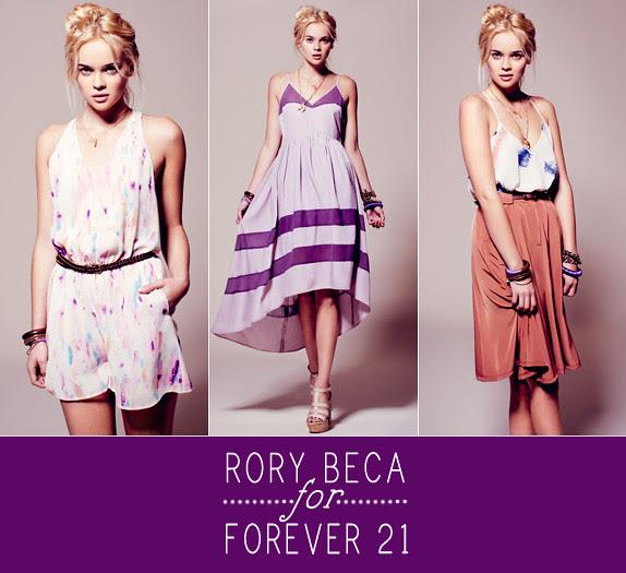 rory beca for forever 21