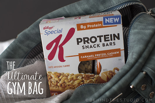 The perfect gym bag snack – Kellogg's Special K® Protein Bars – Behind The Studio