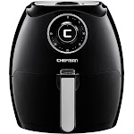 CHEFMAN - 5.5L Analog Air Fryer - Black