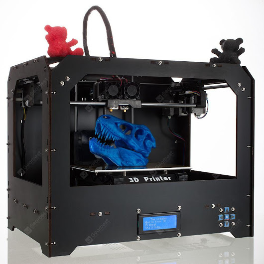 Factory FDM - Black Makerbot Replicator 3D-Printer 2 Extruders NEW - $274.13 Free Shipping | GearBest.com Mobile