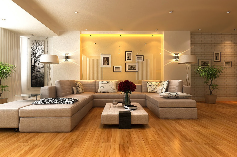 Amusing Family Room With Yellow Living Room Interior ...