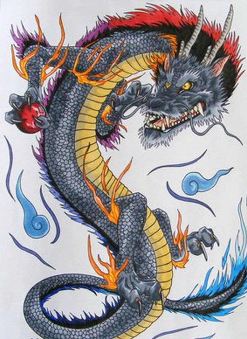 Dragon Japanese Tattoo Design Tattoos Book 65000 Tattoos Designs