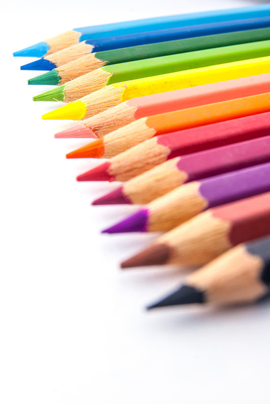 Colored Pencil Choices | Indie coloring book promoter
