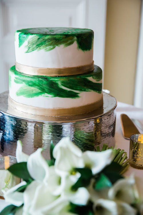 Modern Romantic Wedding Reception at Josephine Butler Parks Center