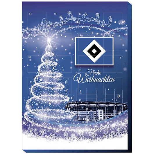 HSV Adventskalender 2016 100 g / € 4,16
