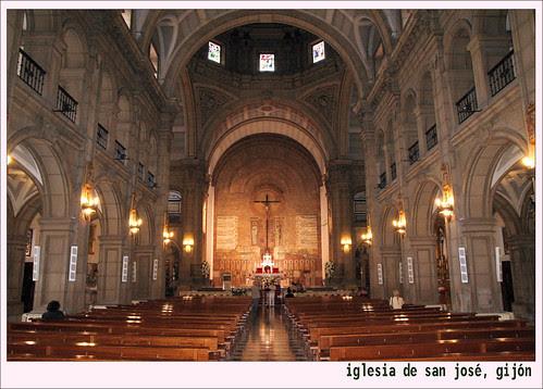 interior de la iglesia de san josé