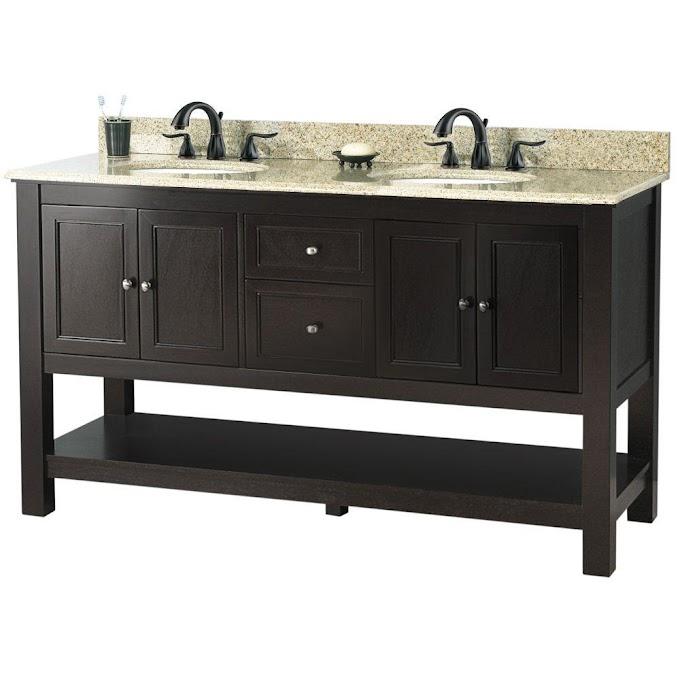 61 Inch Vanity Top Single Sink