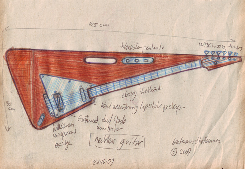 neckless guitar