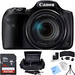 """Canon PowerShot SX540 HS Digital Camera with Sandisk 16GB Memory Card Starter Kit"""