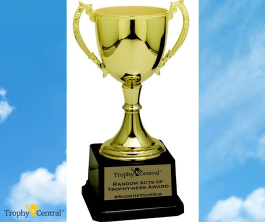 Random Acts of Trophy-ness: Pet Adoption Advocacy Award