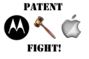 patente maçã motorola