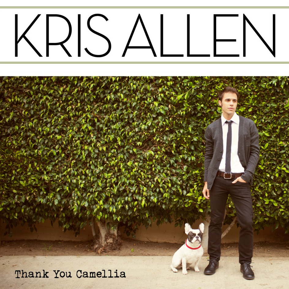 Thank You Camellia (Album Cover), Kris Allen