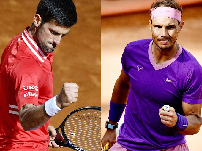 Novak Djokovic to meet Rafael Nadal in Italian Open final