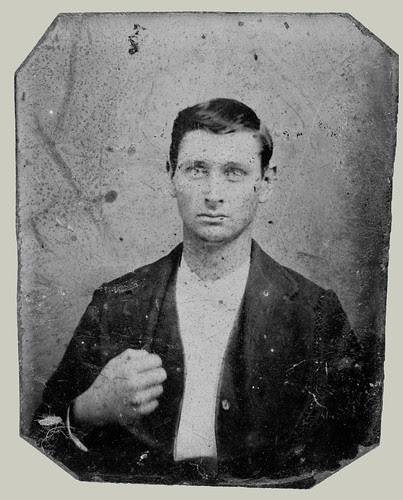 Head ans shoulders portrait man