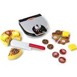 Melissa & Doug Wooden Press & Serve Waffle Set