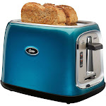 Oster TSSTTRJB0T 2-Slice Toaster - Metallic Turquoise