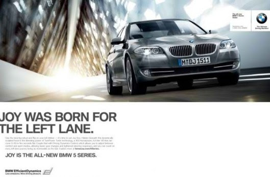 BMW: Η ΧΑΡΑ ΓΕΝΝΗΘΗΚΕ ΓΙΑ ΤΗΝ ΑΡΙΣΤΕΡΗ ΛΩΡΙΔΑ. (ΣΣ: προφανώς στη μεσαία η λύπη και στη δεξιά η κατάθλιψη). Εδώ τα πράγματα λέγονται με το όνομα τους: ΧΑΡΑ=ΤΑΧΥΤΗΤΑ